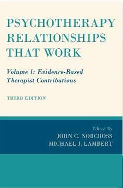 Book cover image of Psychotherapy Relationships That Work.: Evidence-Based Therapist Contributions.